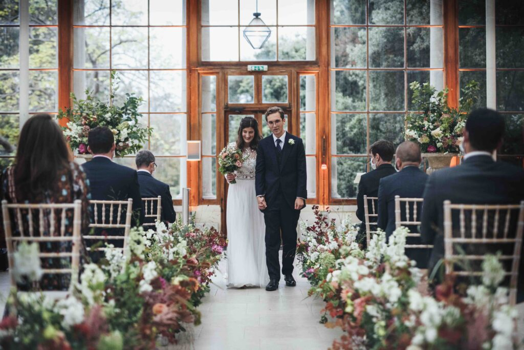 Kew Micro Wedding Production by Oxygen